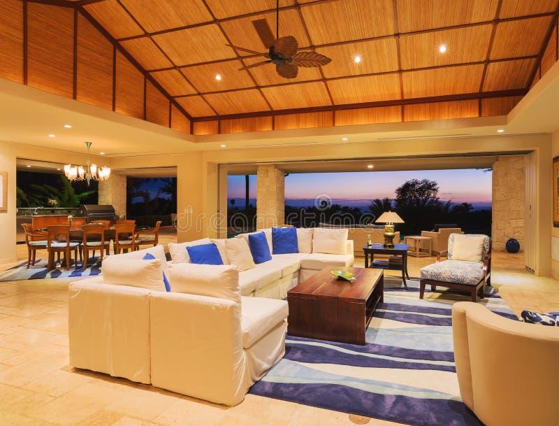 home living luxury room στοκ εικόνα