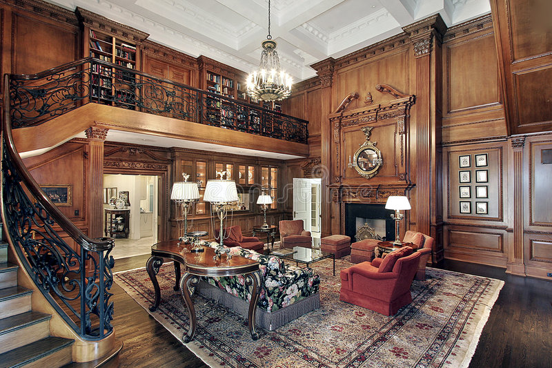 home living luxury room στοκ φωτογραφία