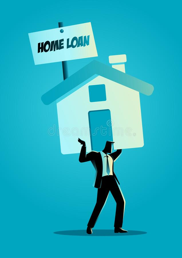 Home Loan vector illustration