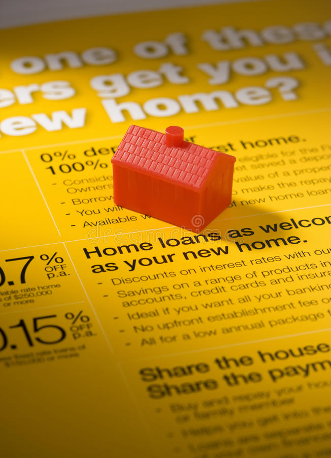 Home Loan Business stock images