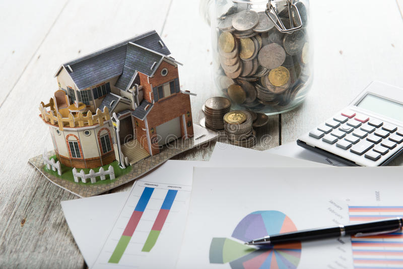 Home loan concept photo royalty free stock photos