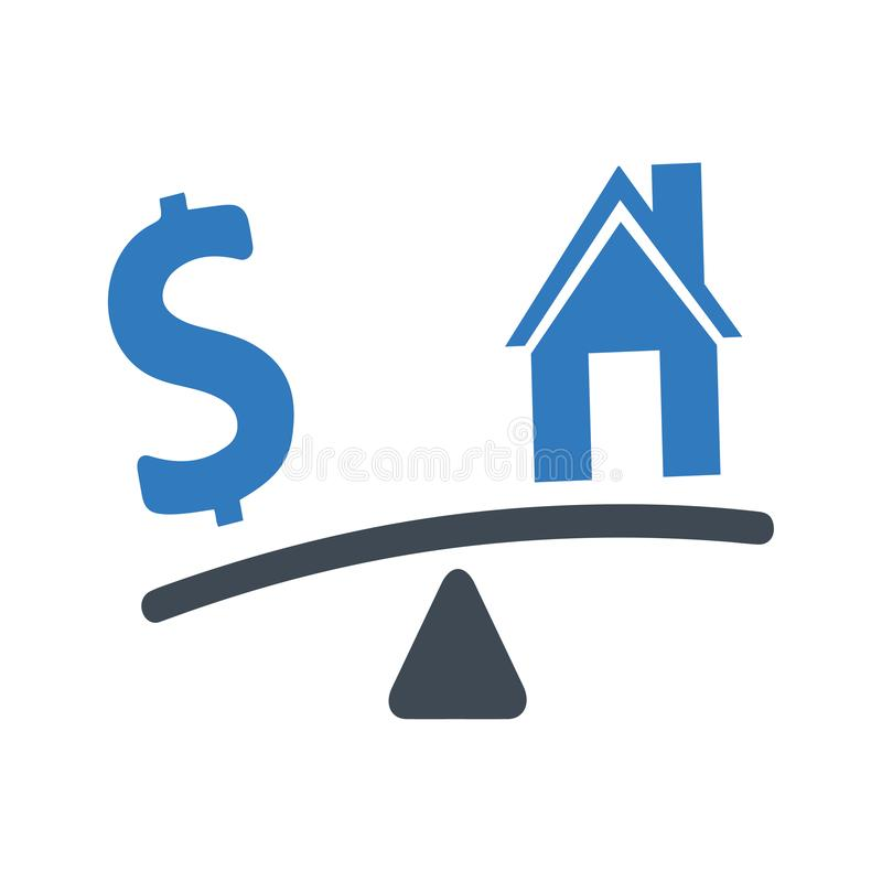 Free Home Loan Icon Stock Images - 167812984