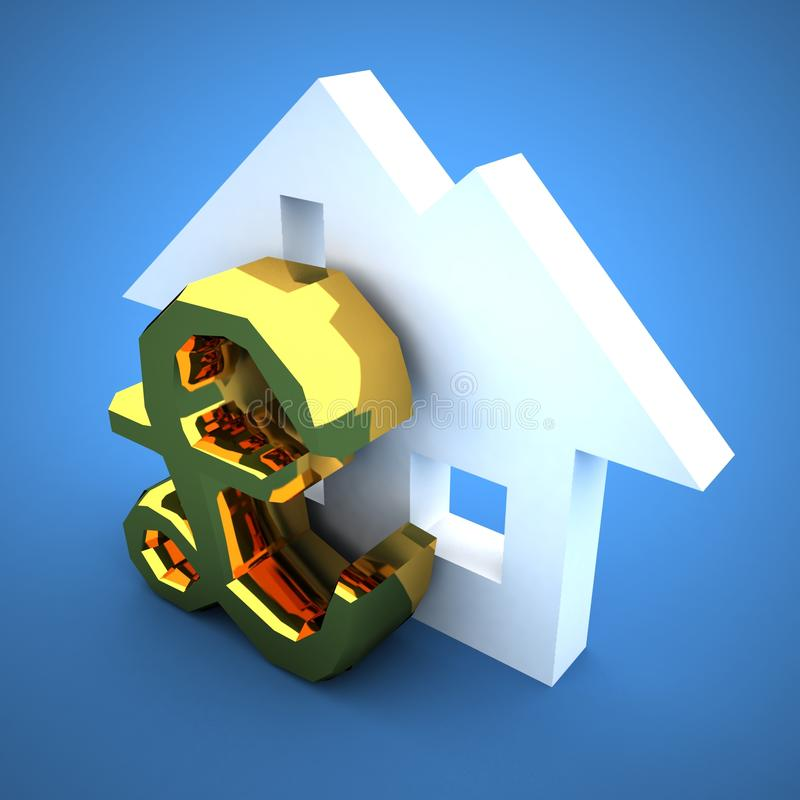 Home Loans royalty free illustration