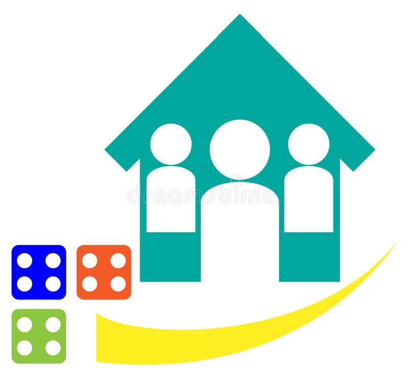 Home Logo Stock Photo