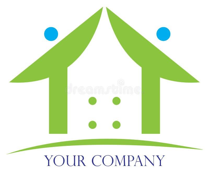 home logo stock illustrationer