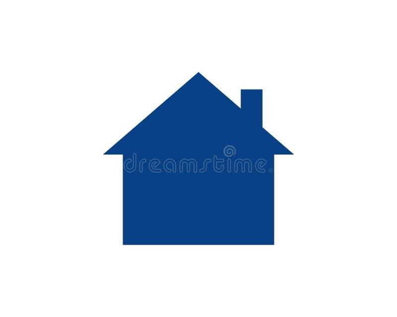 HOME ilustração stock