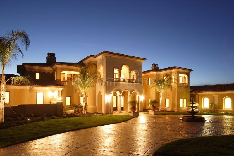 HOME luxuosa foto de stock
