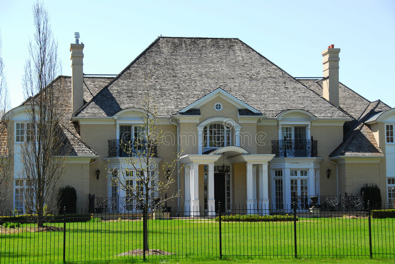 HOME luxuosa foto de stock royalty free