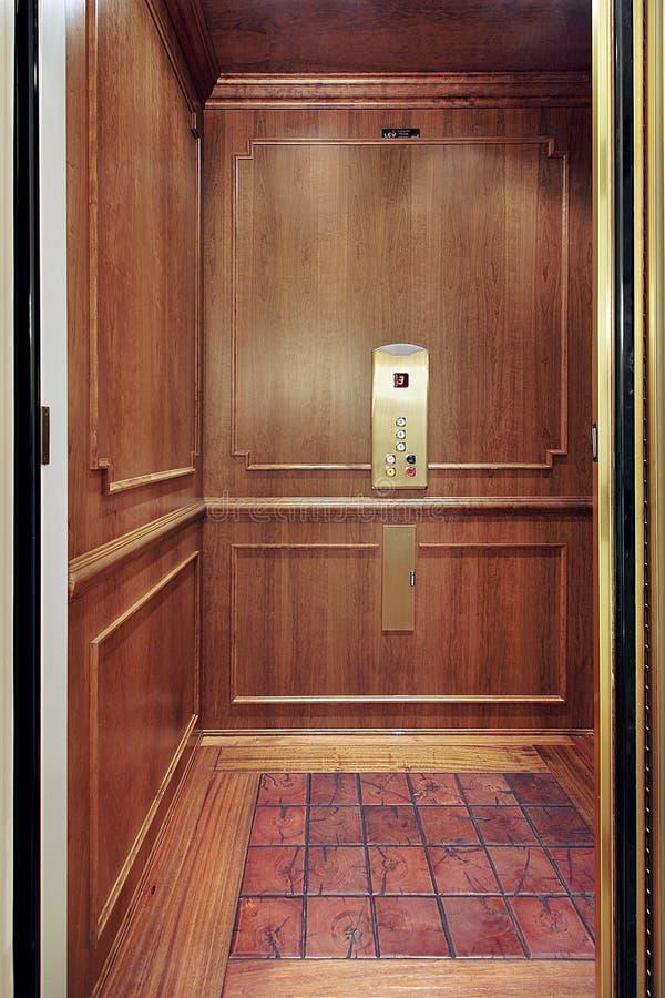 home lyx för hiss royaltyfri fotografi