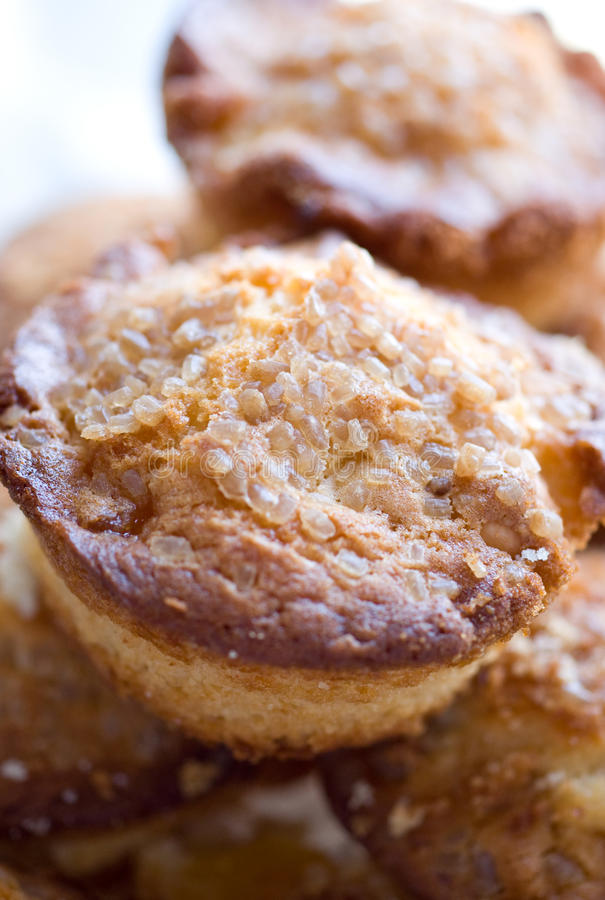Home-made baked muffins