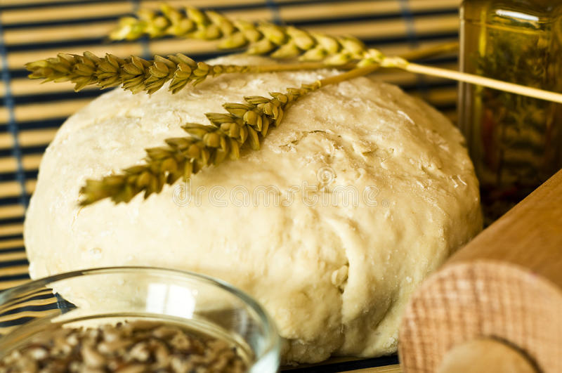 Home made bread stock images