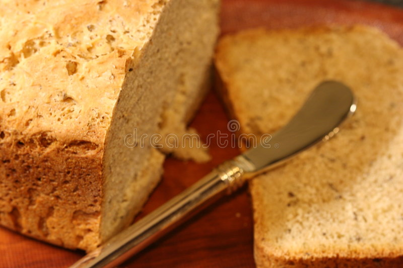 Home made bread stock photo
