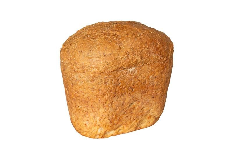 Home made bread loaf royalty free stock photo