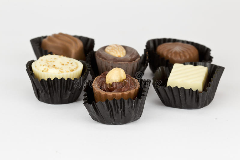 Home made chocolate royalty free stock photography