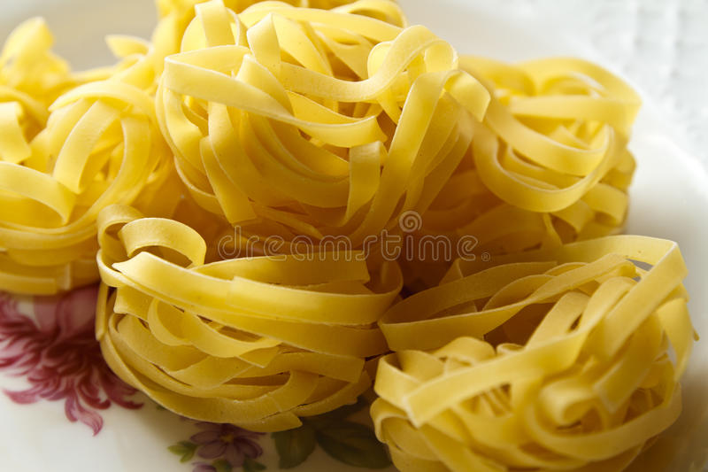 Home made fresh pasta royalty free stock photos