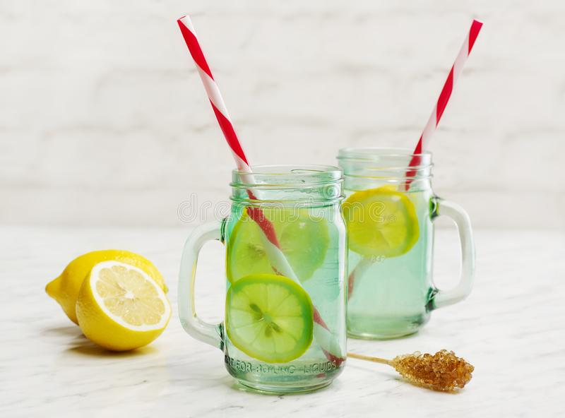 Home made lemonade royalty free stock photography