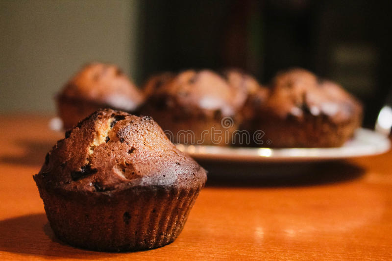 Home made maffin royalty free stock photography