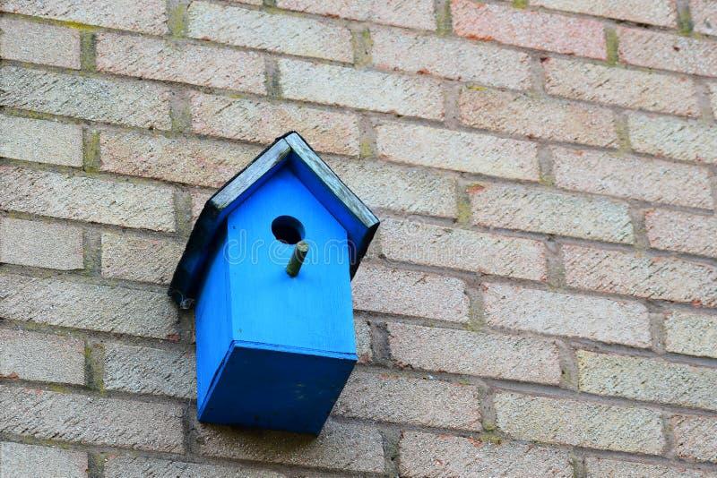 A Blue bird Nesting Box stock image