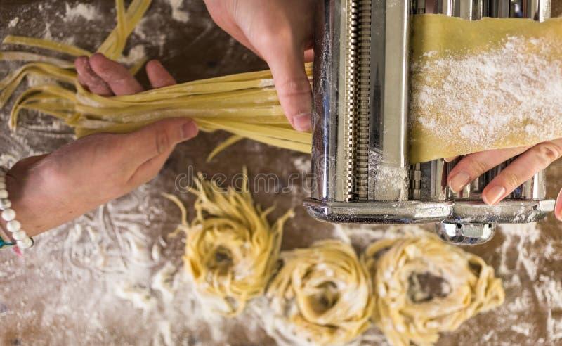 home made pasta στοκ φωτογραφία με δικαίωμα ελεύθερης χρήσης