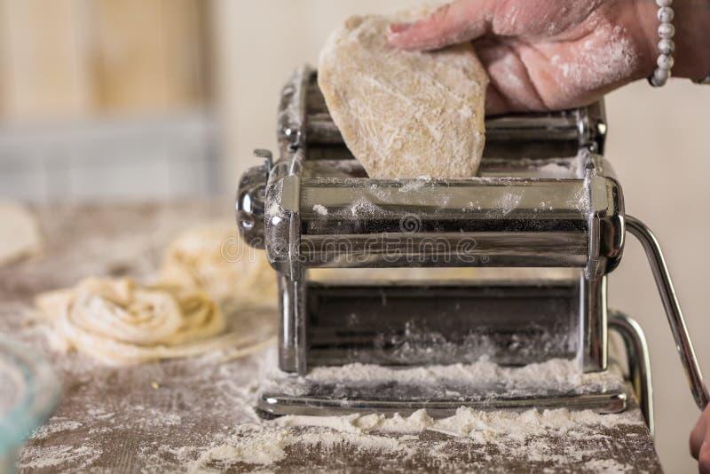 home made pasta στοκ εικόνα
