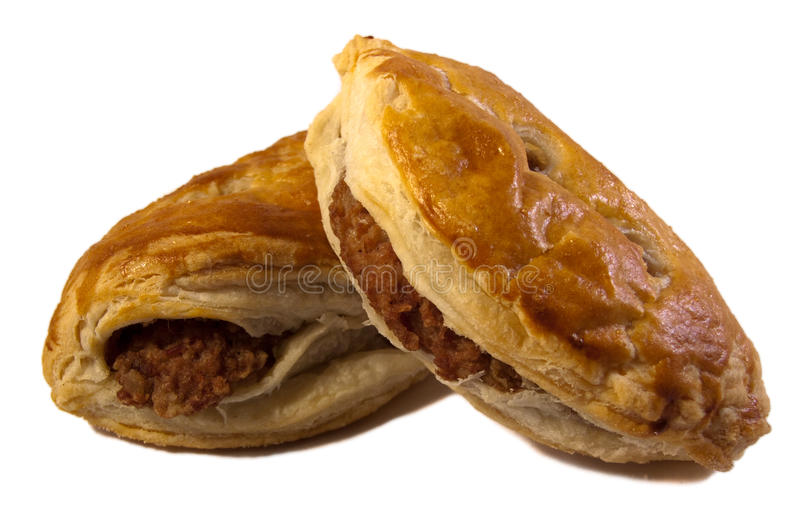 Home Made Pasties stock photos