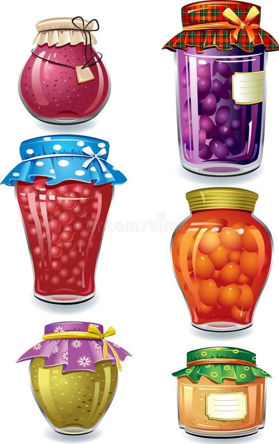 Download Home-made preserved stock vector. Illustration of fruit - 16449370