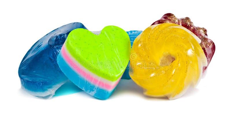 Home-made soap stock photos