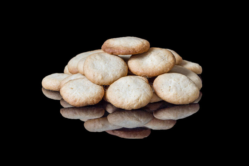 Home Made Vanilla Wafers royalty free stock photography