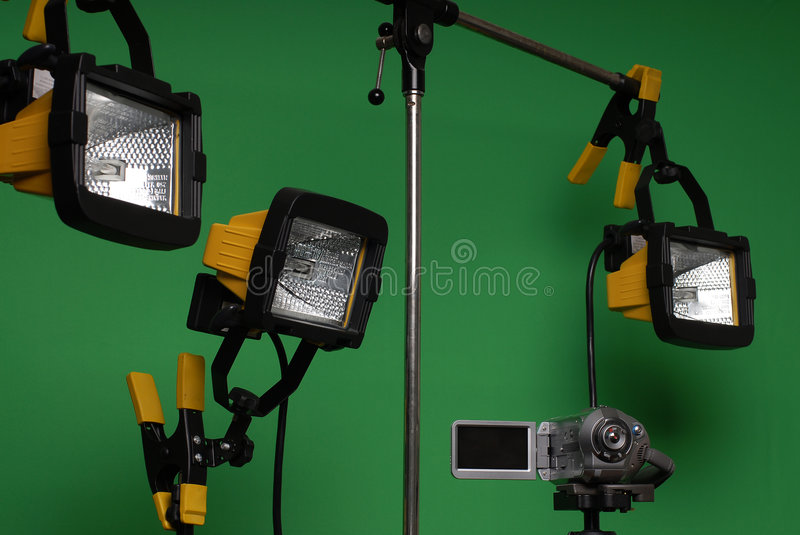 Download Home made video studio stock image. Image of professional - 4675781