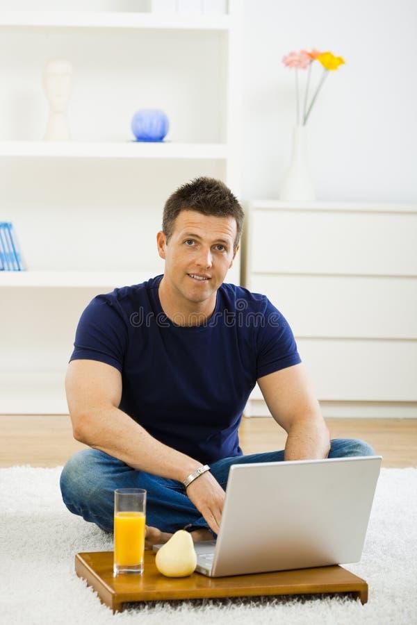 home man working στοκ εικόνες