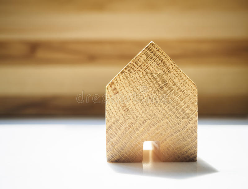 Home Model Wooden background Living lifestyle. Home Model Wooden background House Real estate Property Business royalty free stock photo