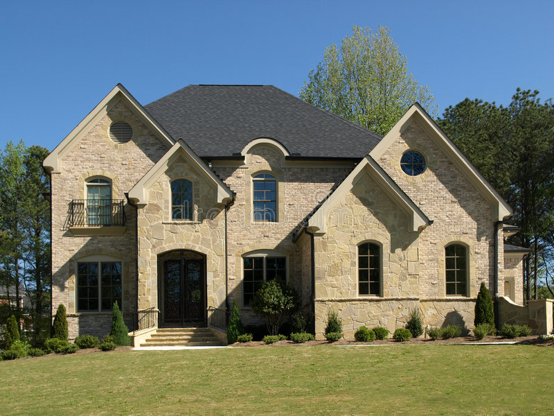 HOME modelo luxuosa 4 foto de stock royalty free