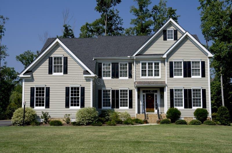 home modern στοκ εικόνα με δικαίωμα ελεύθερης χρήσης