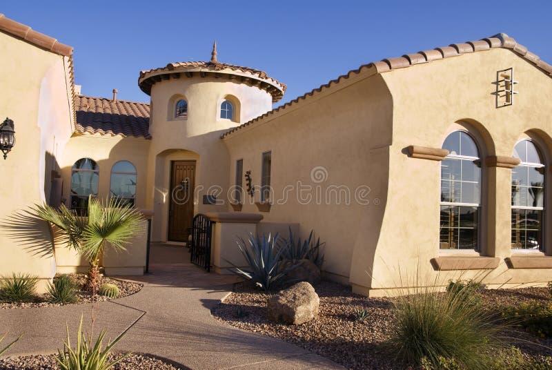 home modern southwestern stil arkivfoto