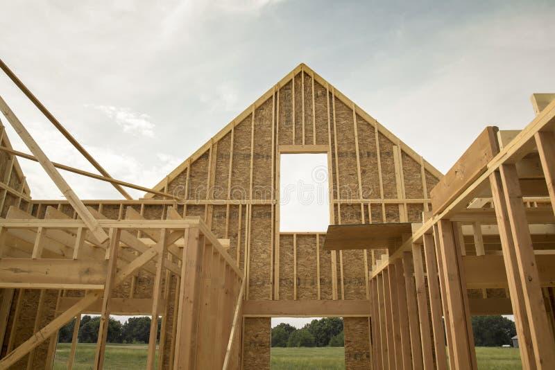 home nytt för konstruktion royaltyfri foto
