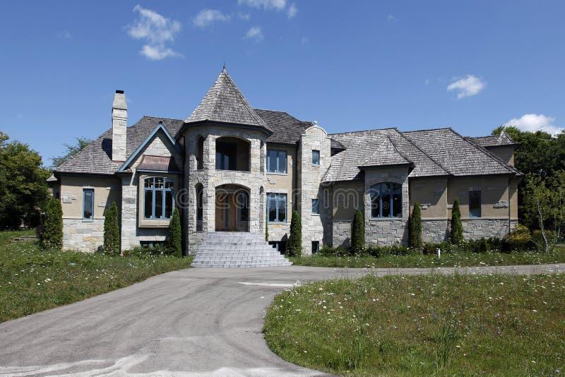home nytt oavslutat för konstruktion royaltyfri foto