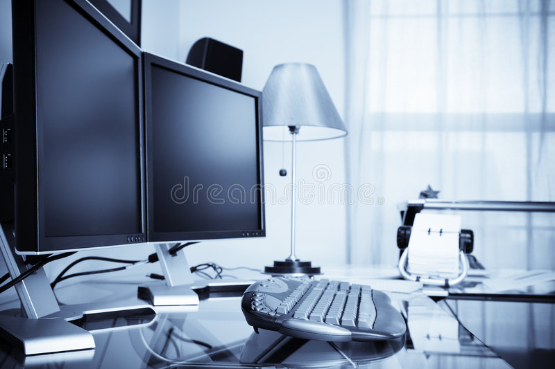 Home Office Royalty Free Stock Photo