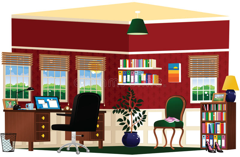 Home office and study stock images
