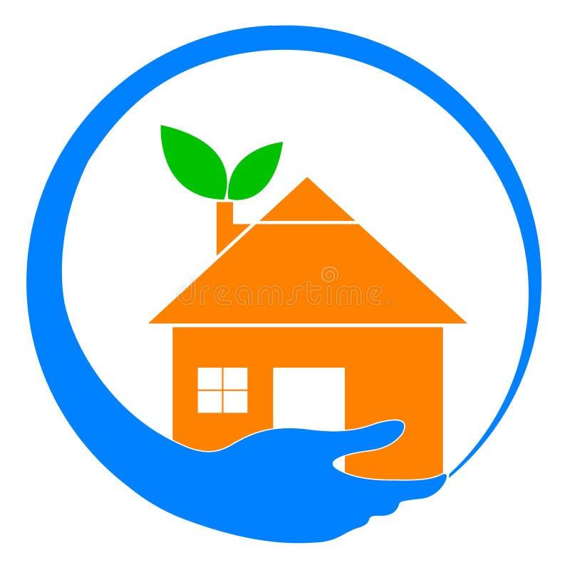 Home omsorg stock illustrationer