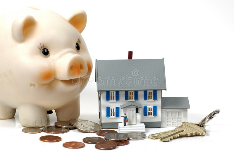 Home Owner royalty free stock image