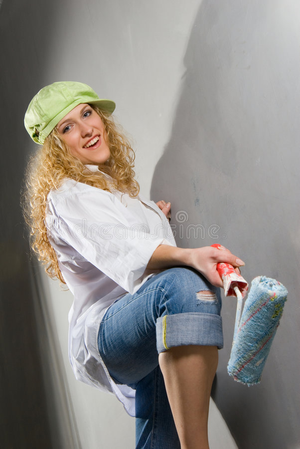 Home painting stock image