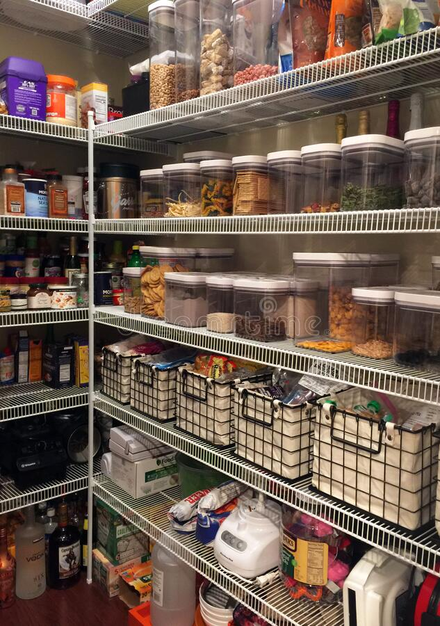 Free Home Pantry Organization 1394 Stock Images - 216446704