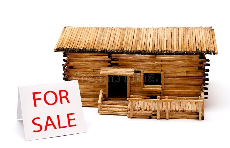HOME para a venda. foto de stock