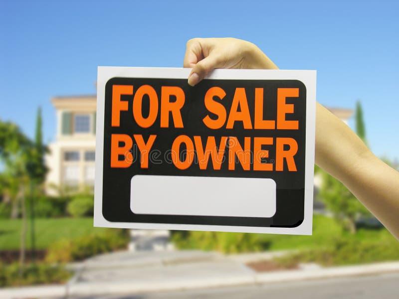 HOME para a venda fotografia de stock royalty free