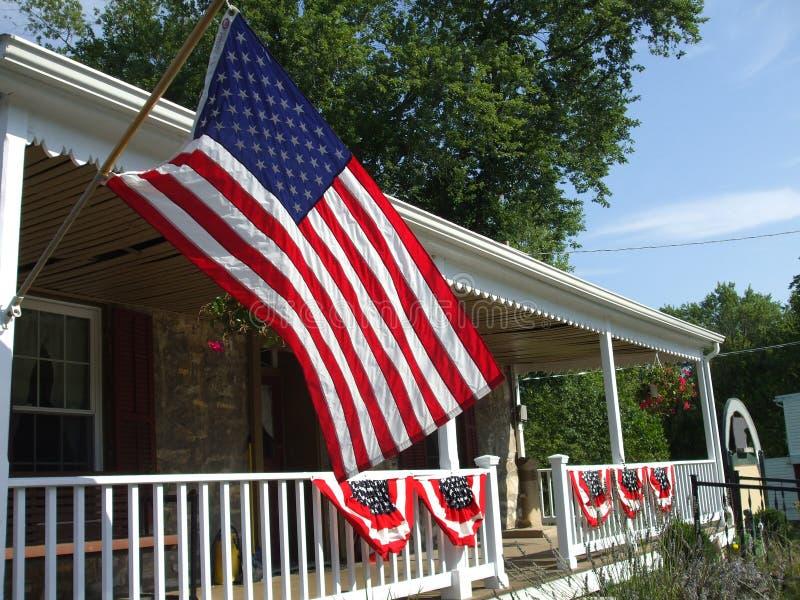 home patriotiskt för land royaltyfria bilder