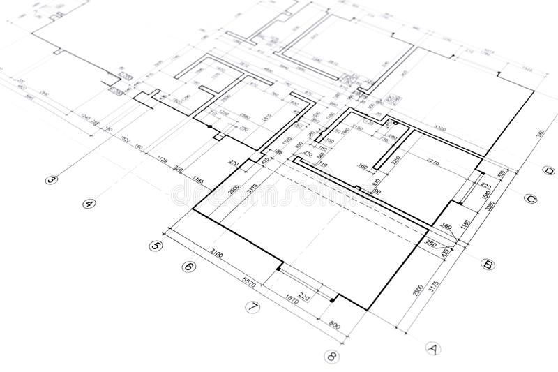 Home plan blueprint stock illustration illustration of download home plan blueprint stock illustration illustration of architecture 55365532 malvernweather Gallery
