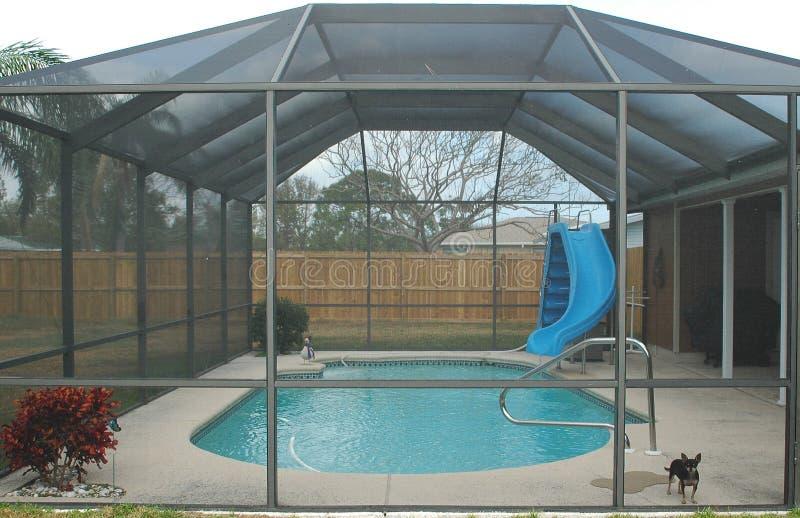 Home Pool stock image