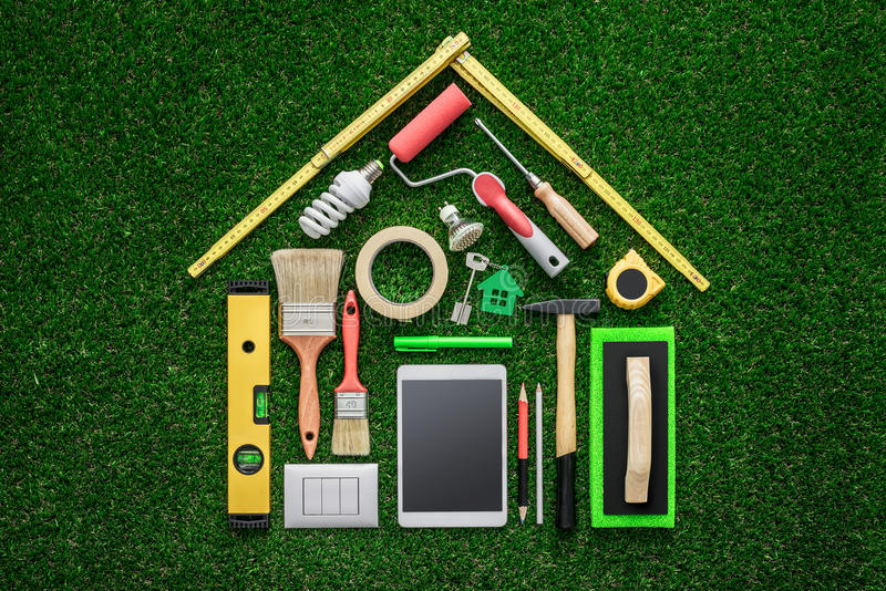 Home renovation and DIY royalty free stock image
