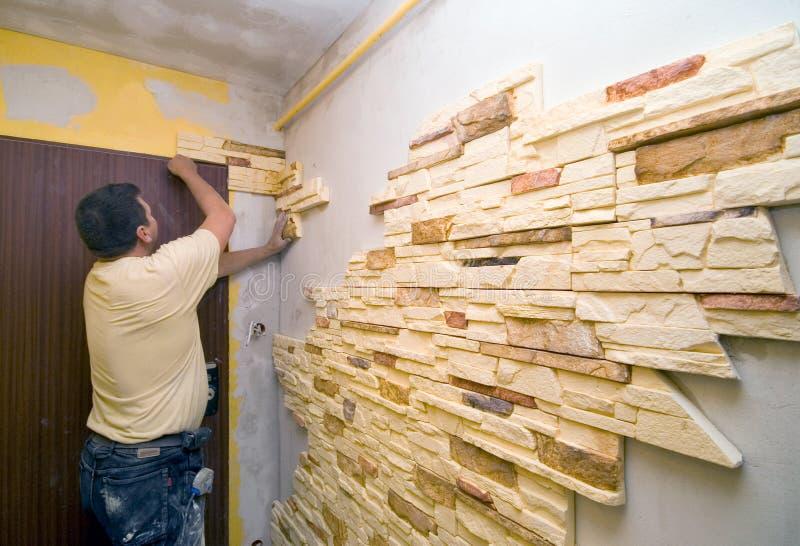 home renovering arkivbild