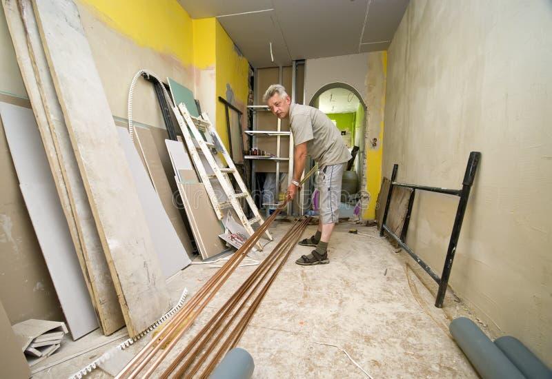home renovering royaltyfria foton